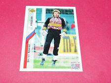 DMITRY KHARINE RUSSIE FIFA WC FOOTBALL CARD UPPER USA 94 PANINI 1994 WM94