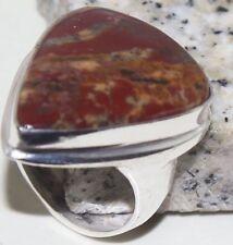 Jazzy Jasper Handmade  Ring Size-9.75