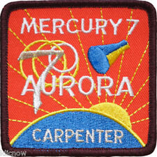 Mercury 7 Mission Embroidered Patch (Official Patch) 7.5cm x 7.5cm approx