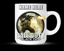 Call Of Duty Black Ops COD Personalised Mug Cup Birthday Novelty Gift - DE13