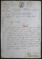 Général PETITGUILLAUME autographe 1798 / Etat de Siège
