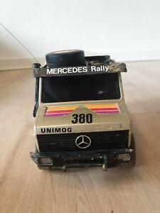Mercedes-Benz Unimog U1700   RC-Modell 1983 TechnoToy NiKKO   Rallye Paris-Dakar