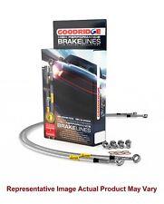 Goodridge G-Stop Brake Line Kit 4 Lİnes for 91 - 94 Nissan Sentra Rear Disc