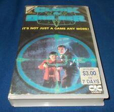 CLOAK & DAGGER VHS PAL  HERNY THOMAS
