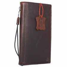 genuine leather Case for apple iphone 8 book wallet cover id holder vintage slim