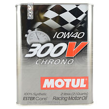 Motul 300V Chrono 10W-40 Racing engine oil - 2 Litres