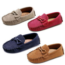 Kid Boy Girl Moccasin Loafer Flat Shoe Soft Casual Baby Toddler Boat Peas Shoes