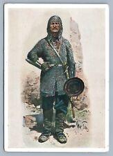 GEORGIAN CAUCASIAN KHEVSUR MAN RUSSIAN VINTAGE POSTCARD
