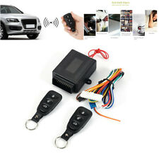 Car Central Door Power Lock Unlock Kit Keyless Remote Control Entry System