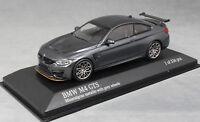 Minichamps BMW M4 GTS Mineral Grey Met (Grey wheels) 410025224 1/43 NEW Ltd 336
