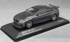 Minichamps BMW M4 GTS Mineral Grey Met (Grey wheels) 410025224 1/43 NEW Ltd 336