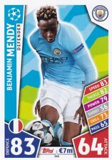 Benjamin Mendy 2017-18 Topps Champions League Match Attax,Cartas Coleccionables