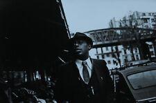 Guy le Querrec Photo Kunstdruck Art Print 49x33cm Archie Shepp Paris France 1983