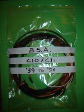 BSA C10 C11 250cc Wiring Loom Harness Cloth Covered 1939 to 1953