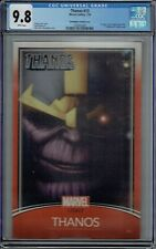 CGC 9.8 THANOS #13 CHRISTOPHER VARIANT COVER 1ST APPEARANCE COSMIC GHOST RIDER