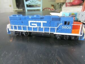 h o trains: Super nice GRAND TRUNK road diesel with a strong motor--non runner