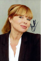 Sandra Steffl - original handsigniertes Großfoto - signed Autogramm in Person