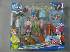 DISNEY HEROES PETER PAN PLAYSET DOUBLE SCENERY-FAMOSA 2009-SUPER RARO-NEW!!