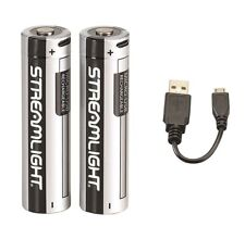 Streamlight 22102 SL-B26 USB Rechargeable Lithium Battery 2 Pack & Charging Cord