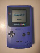 Nintendo Game Boy Color Handheld-Spielekonsole - lila/violett - sehr guter Zust.