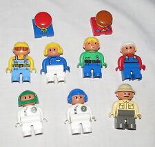 Lego Duplo Spare Parts NINE Figures Minifigures