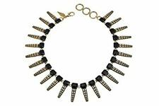 "Nicole Romano""Belcourt"" 16"" Spike Collar Necklace Retail $130"