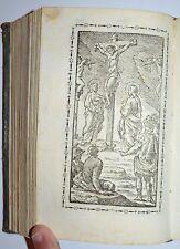 SETTIMANA SANTA - firgur. 1827 - uffizio - bassano - passione di Cristo