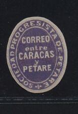 ***REPLICA*** of Venezuela 1876 Petare - Caracas courier service