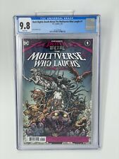 CGC 9.8 Dark Nights: Death Metal The Multiverse Who Laughs #1