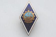 Russian USSR  Kohtla Järve Mining School 1959 Graduation Badge Nice Grade Rare !