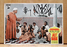 ALì BABà fotobusta poster affiche Fernandel Les quarante voleurs 1954  B40