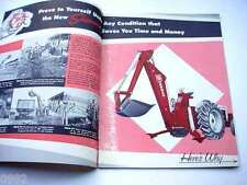 Sherman Power Digger Backhoe shown with Ford Tractors Brochure