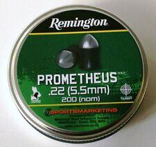 REMINGTON PROMETHEUS AIRGUN AIR RIFFLE PELLETS .22 (5.5MM) CALIBRE BLACK