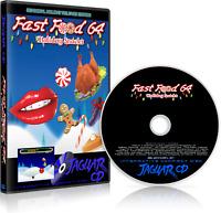 FAST FOOD 64: HOLIDAY SNACKS Atari Jaguar CD 2018 Game CGS EVENT SALE!