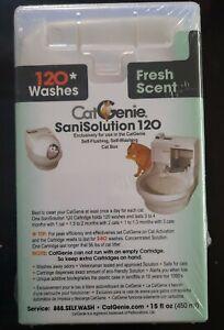 CatGenie 120 SaniSolution SmartCartridge, Fresh Scent, 15 Fluid Ounce