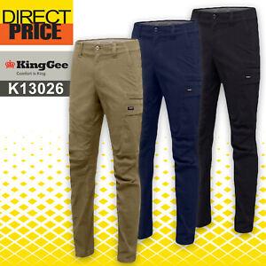 KingGee K13026 Workcool Pro Multi Pockets Pants STRETCH RIPSTOP COTTON