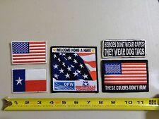 Texas Veteran Group Patches Harley Davidson Biker Patch HOG flhr honda BMW flhtc