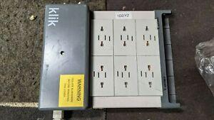 Used HAGER KLIK 4 Way Lighting Marshalling Box LCM