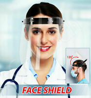Full Face Shield Visor Protection Mask Sheild Safety Clear PPE Face Covers 50x