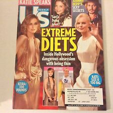 US Weekly Magazine Extreme Diets Katie Holmes July 24, 2006 052517nonrh