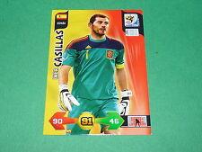 CASILLAS ESPAÑA  PANINI FOOTBALL FIFA WORLD CUP 2010 CARD ADRENALYN XL