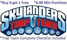 *Skylanders Trap Team Complete UR Set w Checklist $6.98 Min *Buy 4 get 1 Free👾