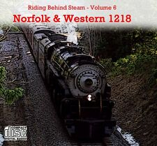 Train Sounds On CD: Riding Behind Norfolk & Western 1218