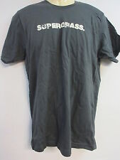 NEW - SUPERGRASS NAME BAND / CONCERT / MUSIC T-SHIRT MEDIUM