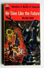 No Time Like The Future NELSON BOND Science Fiction PBack Avon T80 1954 PBO nM