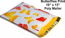 New listing (20) Butterfly Print 10 x 13 Poly Mailers Self Sealing Envelopes Bags Designer