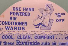 Vintage original Wards Auto Hand AC accessory ford chevy mopar rat show hot rod