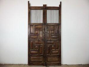 Pair of Large Antique Vintage Indian Garden Gates Doors MILL-908/3