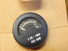 10.1163 MILITARY SOUND AUDIO METER 0DB = 1MH 600 OHM 6625-00-057-1547