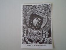 CARTOLINA POSTCARD MARIA SS DI MONTEVERGINE - ANNI '60